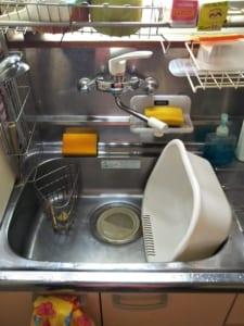 守谷市の台所水漏れ