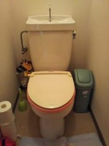 守谷市のトイレ水漏れ