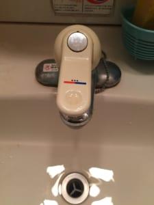 水戸市洗面台蛇口水漏れ