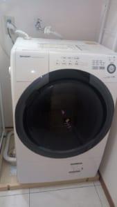 水戸市の洗濯機水漏れ