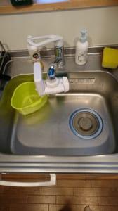 那珂市の台所水漏れ