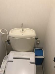 潮来市のトイレ詰り