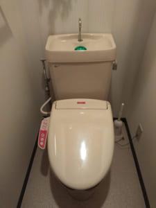取手市のトイレ水漏れ