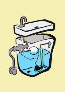 トイレタンクの構造