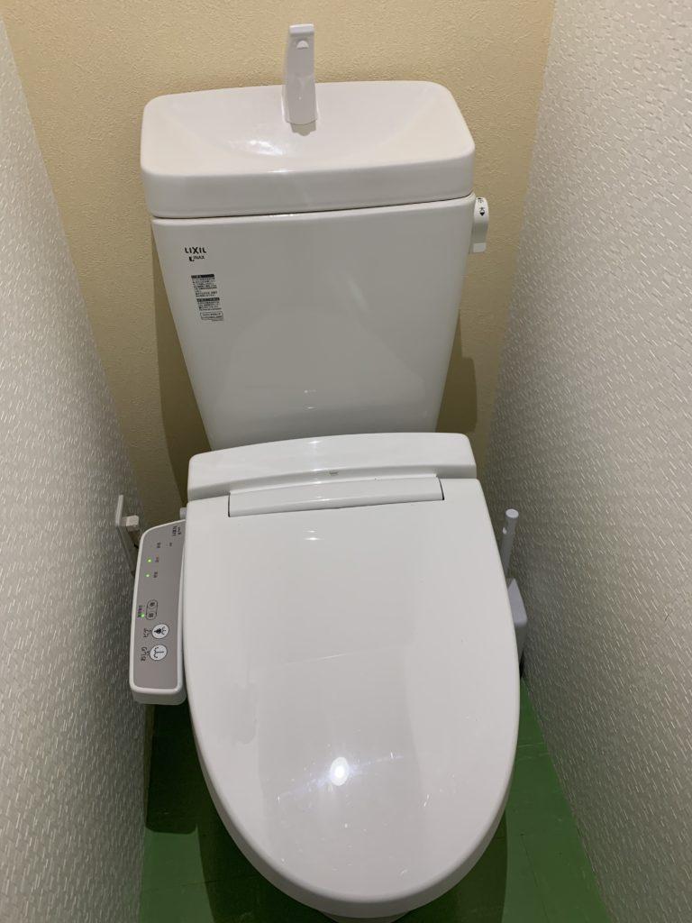 小山市でトイレ水漏れ修理の施工事例