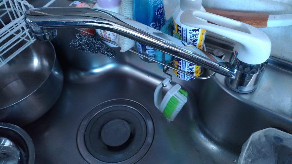 宇都宮市で台所の蛇口修理の施工事例