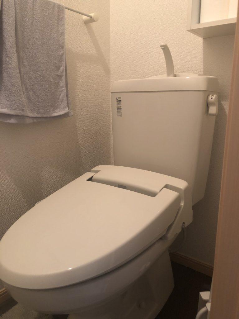 佐野市でトイレの水漏れ修理施工事例