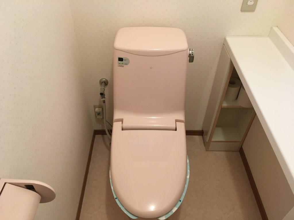 宇都宮市でトイレの給水管から水漏れ修理の施工事例