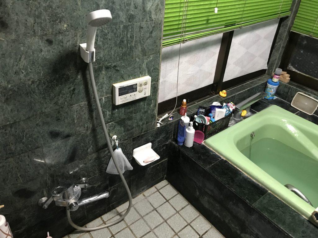 足利市でお風呂場のつまりトラブルを修理しました。