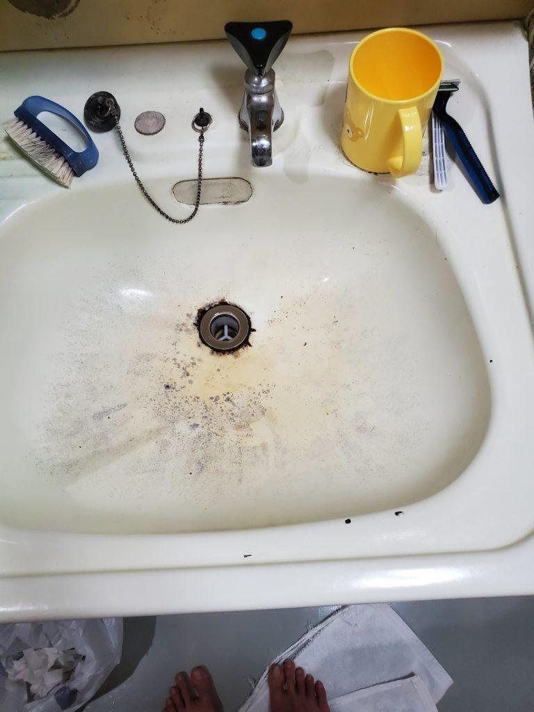 那須郡那須町で洗面蛇口の水漏れ修理を行いました。