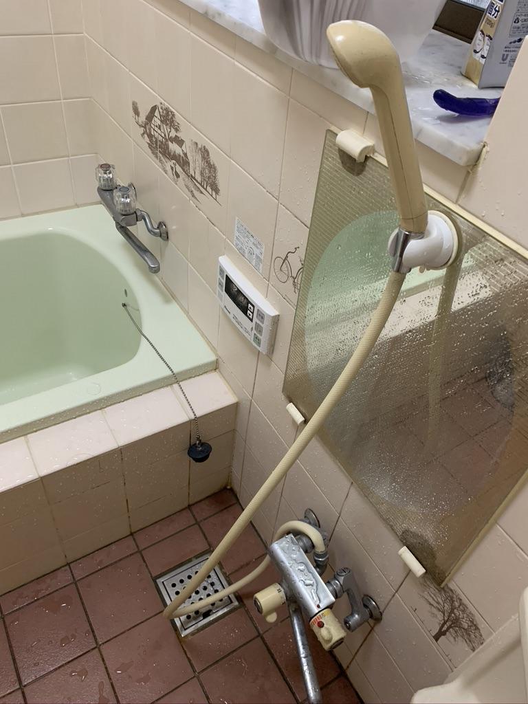 大田原市でお風呂の排水つまりトラブルを解消しました。