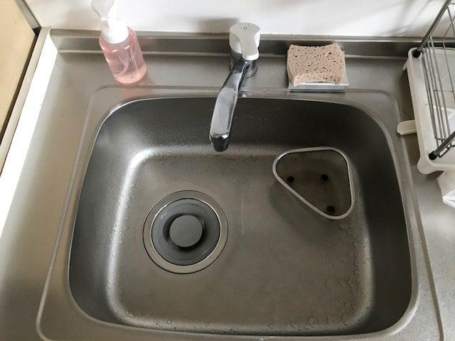 さくら市で台所の排水つまりを解消しました。
