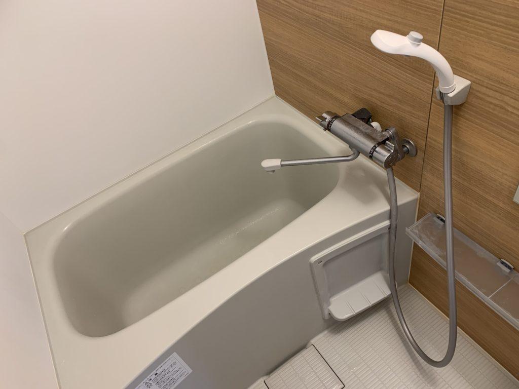 宇都宮市で浴室の蛇口水漏れ修理を行いました。