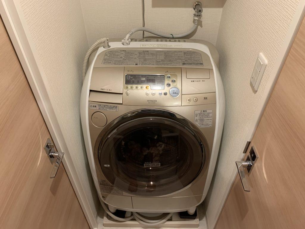 佐野市で洗濯機排水部分の水漏れ修理を行いました。