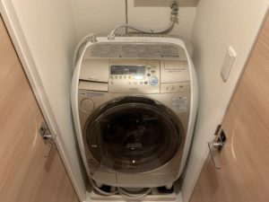 洗濯排水水漏れ