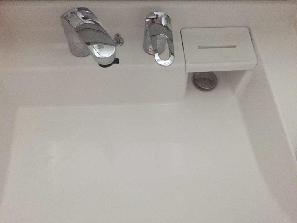 佐野市で洗面の水漏れ修理を行いました