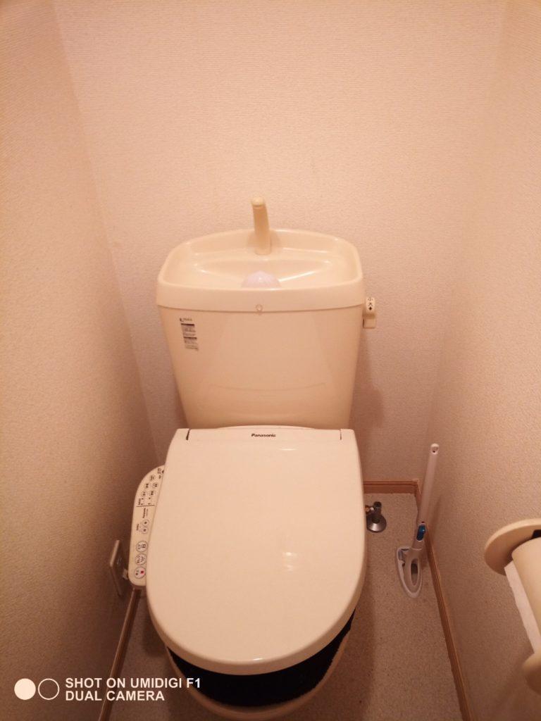 小山市でトイレの水漏れ修理を行いました。