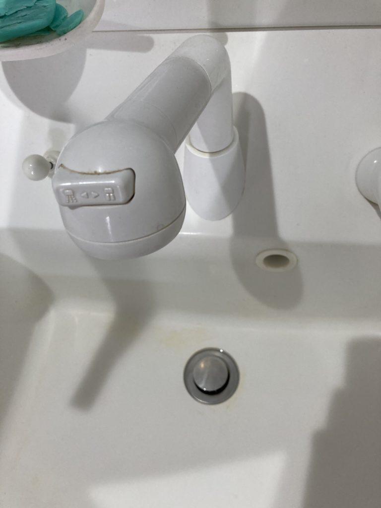 栃木県足利市相生町にて洗面台つまり解決