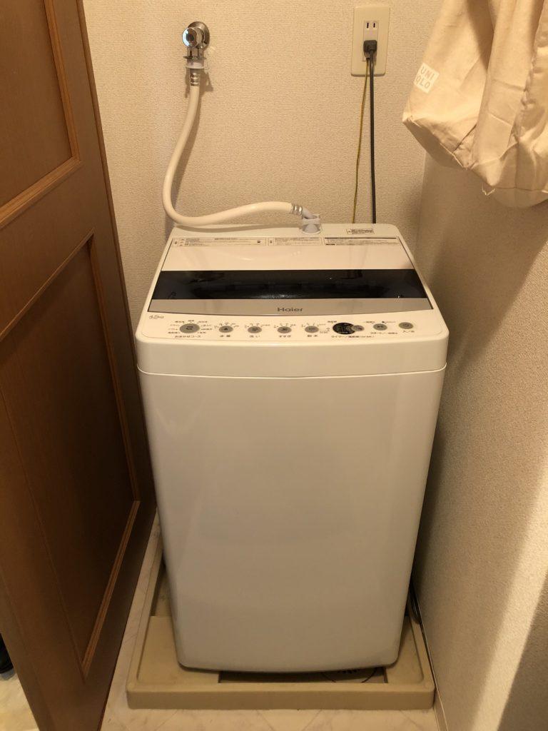 栃木県那須鳥山市で洗濯蛇口水漏れ修理を行いました。