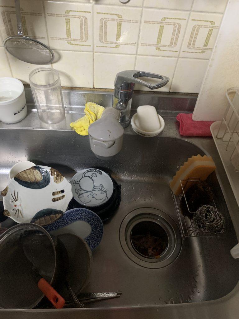 栃木県大田原市で台所蛇口の水漏れ修理を行いました。