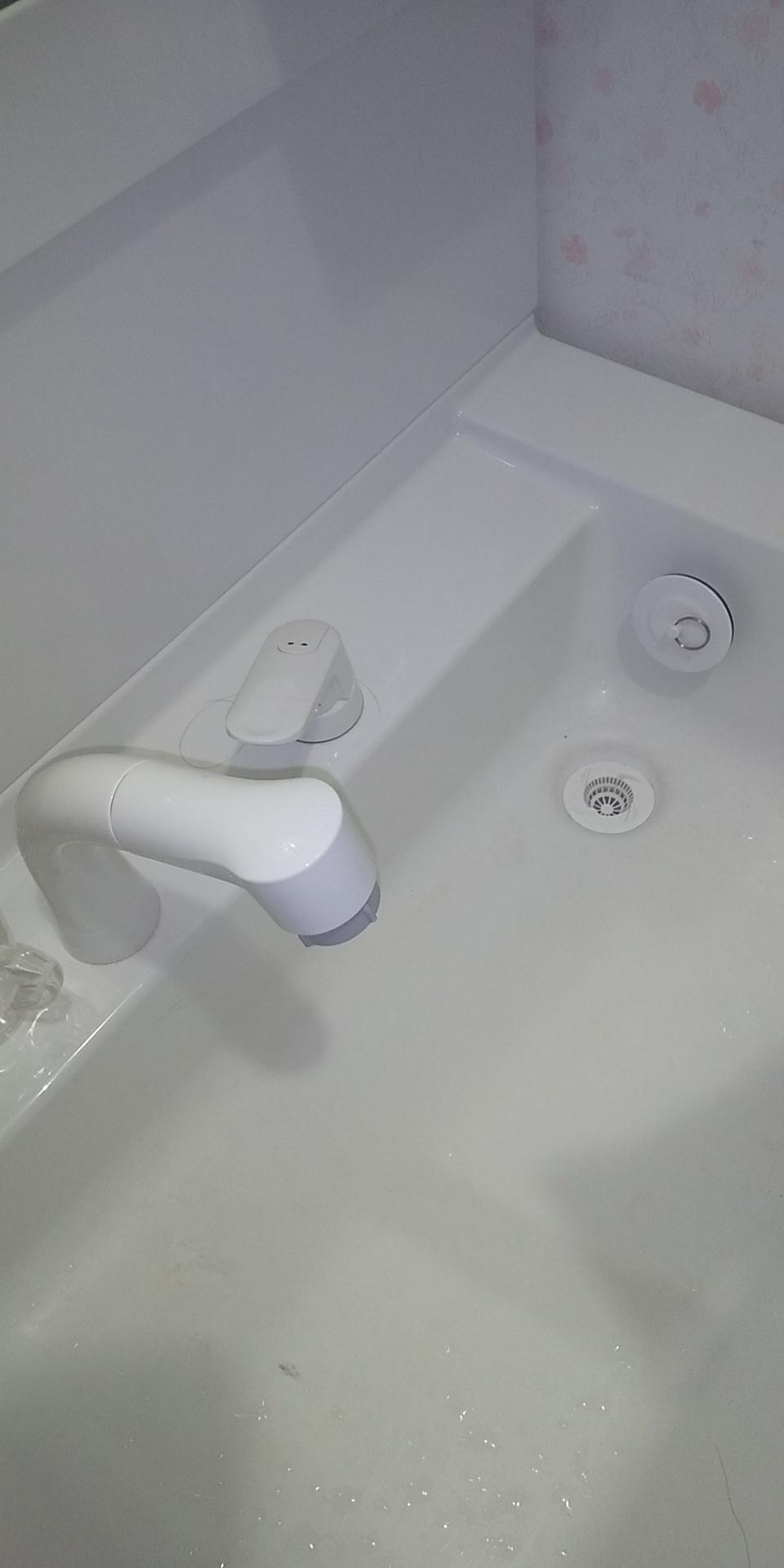 蛇口の水漏れ