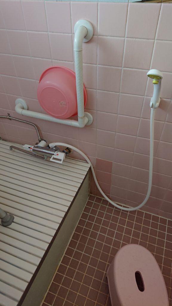 栃木県真岡市で浴室の蛇口水漏れ修理作業事例